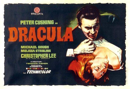 Dracula, horror films