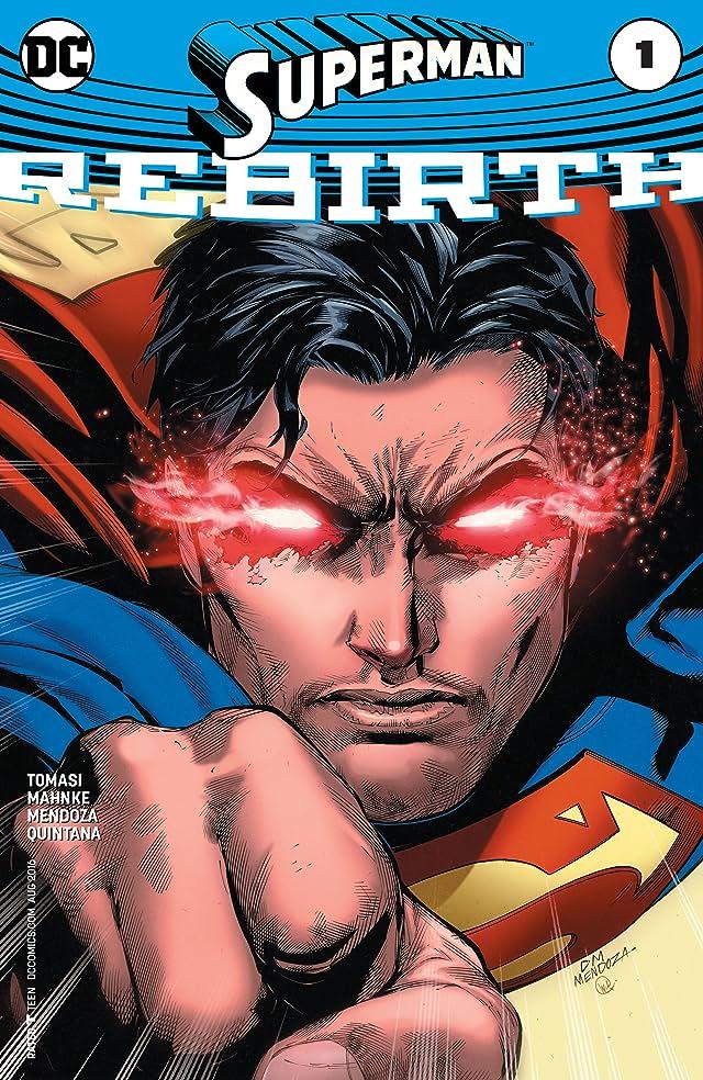 TICGN Superman: Rebirth (2016) #1
