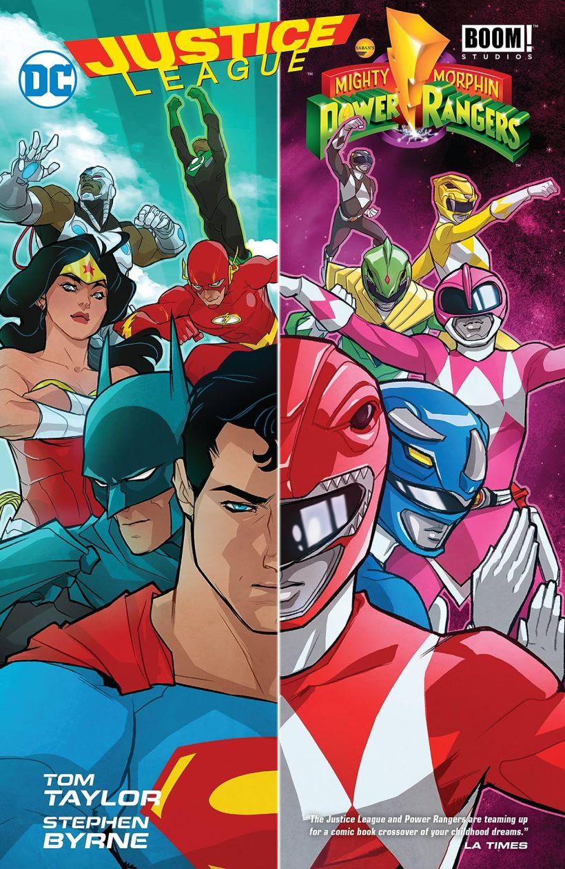 Justice League/Power Rangers (2017)