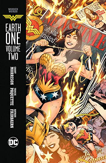 Image result for wonder woman earth one volume 2 cover