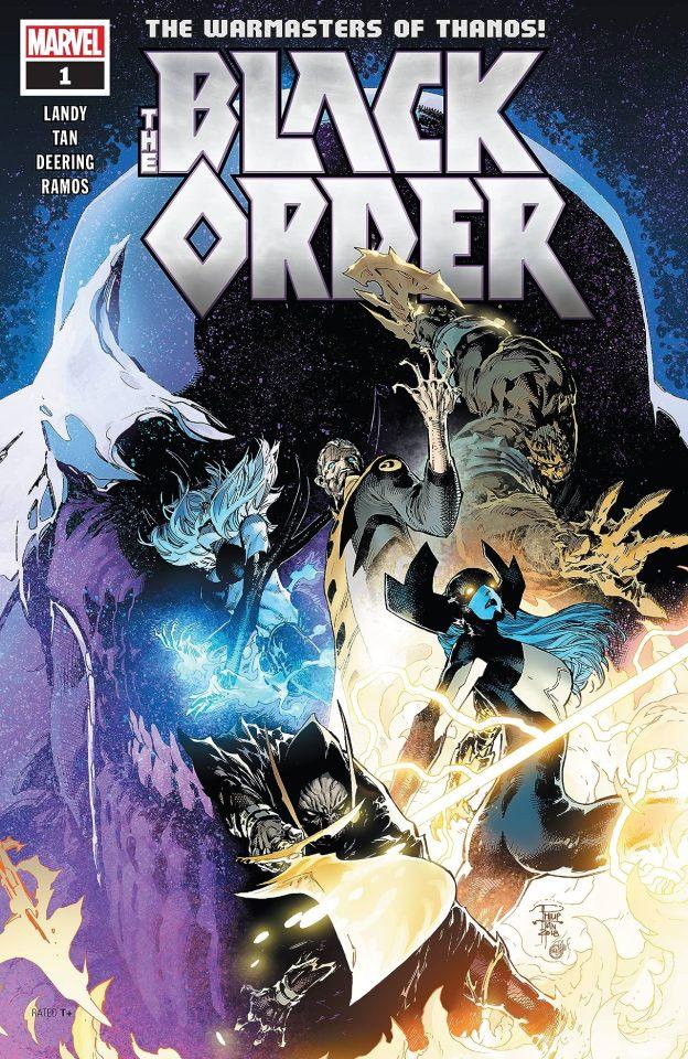 Capa de Black Order #1 por Philip Tan.