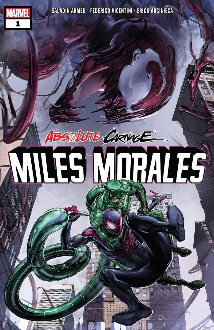 Carnicería absoluta: Miles Morales (2019) # 1 (de 3)