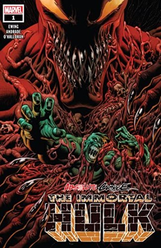 Image result for absolute carnage immortal hulk