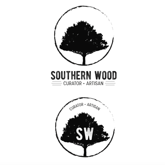 Antique And Reclaimed Wood Curator Needs Logo Southern