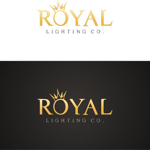 create the next logo for royal lighting