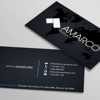BUSINESS CARD LAYOUT   Business card contest Runner up design by Hamza ali 4