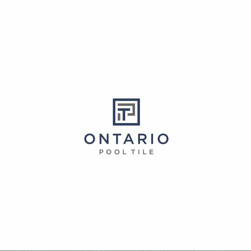 ontario pool tile logo design contest