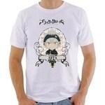 Camiseta camisa black clover asta anime otaku série barato