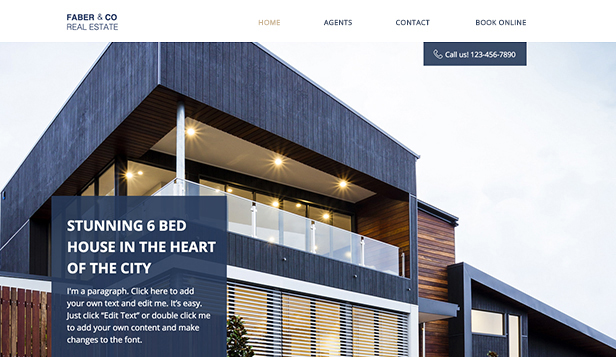 Houzez is a wordpress theme designed specifically for real estate agents and companies. Real Estate Website Templates Business Wix Com