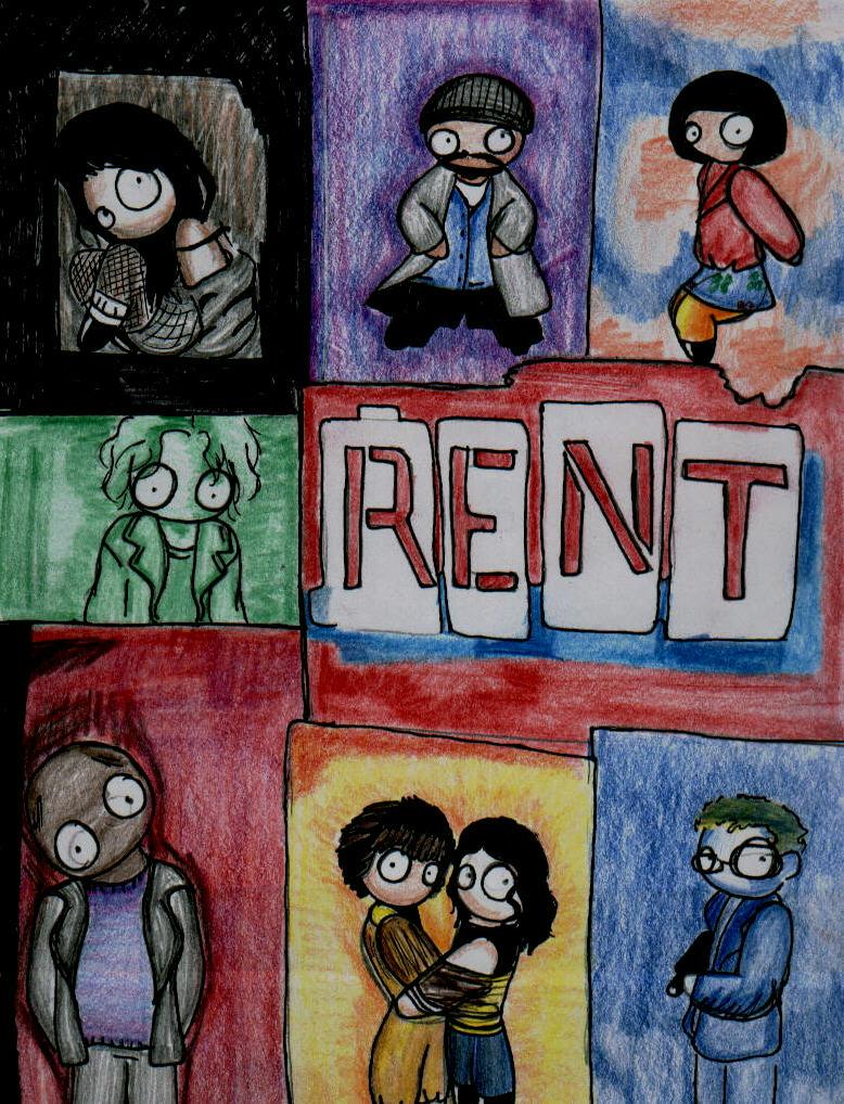 chibi rent poster by sanarisebuna on