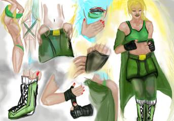 Dressing comic attempt by dourdan