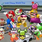 Super Mario Total Drama World Tour Poster By Beekermaroo777 On Deviantart