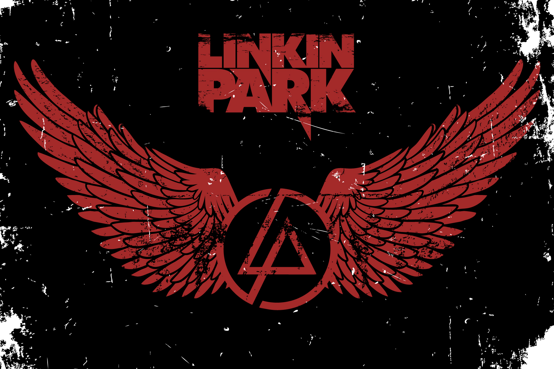 linkin park poster by polygonbronson on