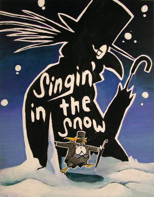 Singin In The Snow By Infamously Dorky
