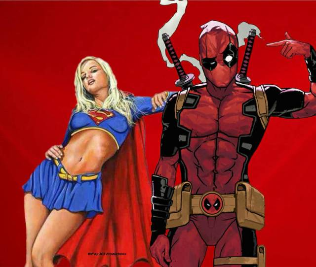 Deadpool Wallpaper Supergirl Dilemma By Curtdawg53