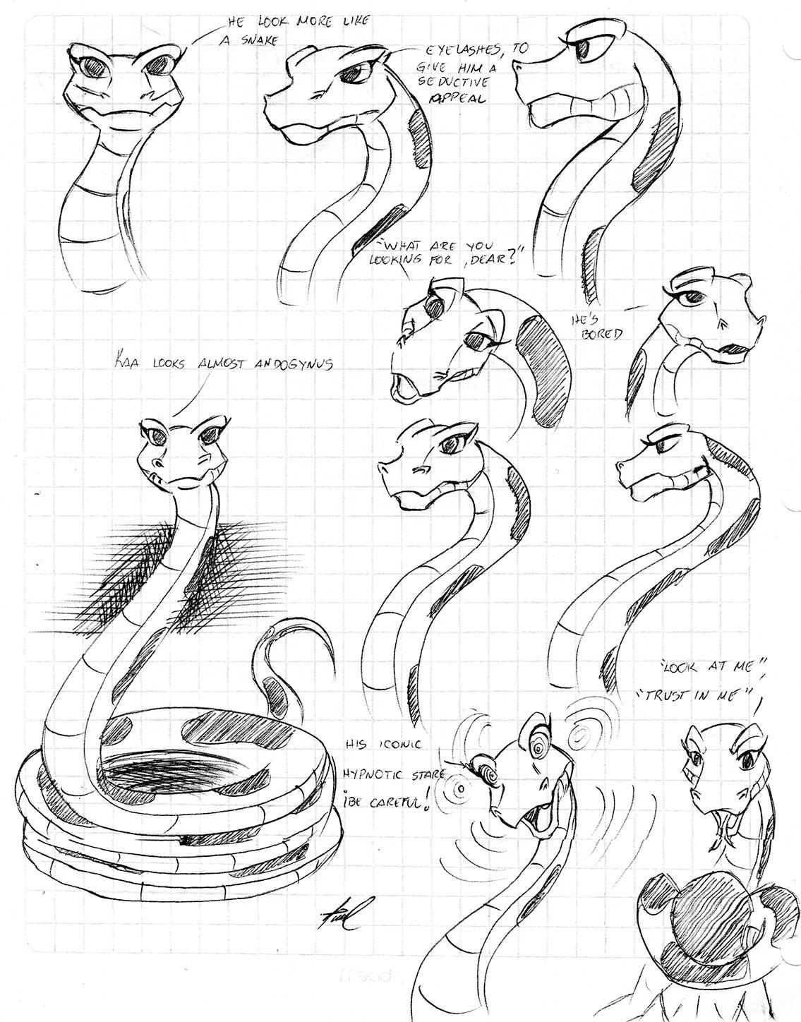 The Jungle Book Kaa | Wiring Diagram Database