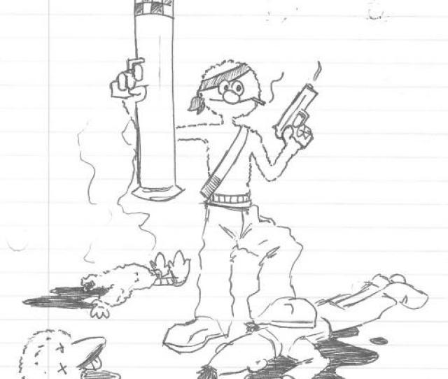 Elmos Got A Gun By Jlewis413