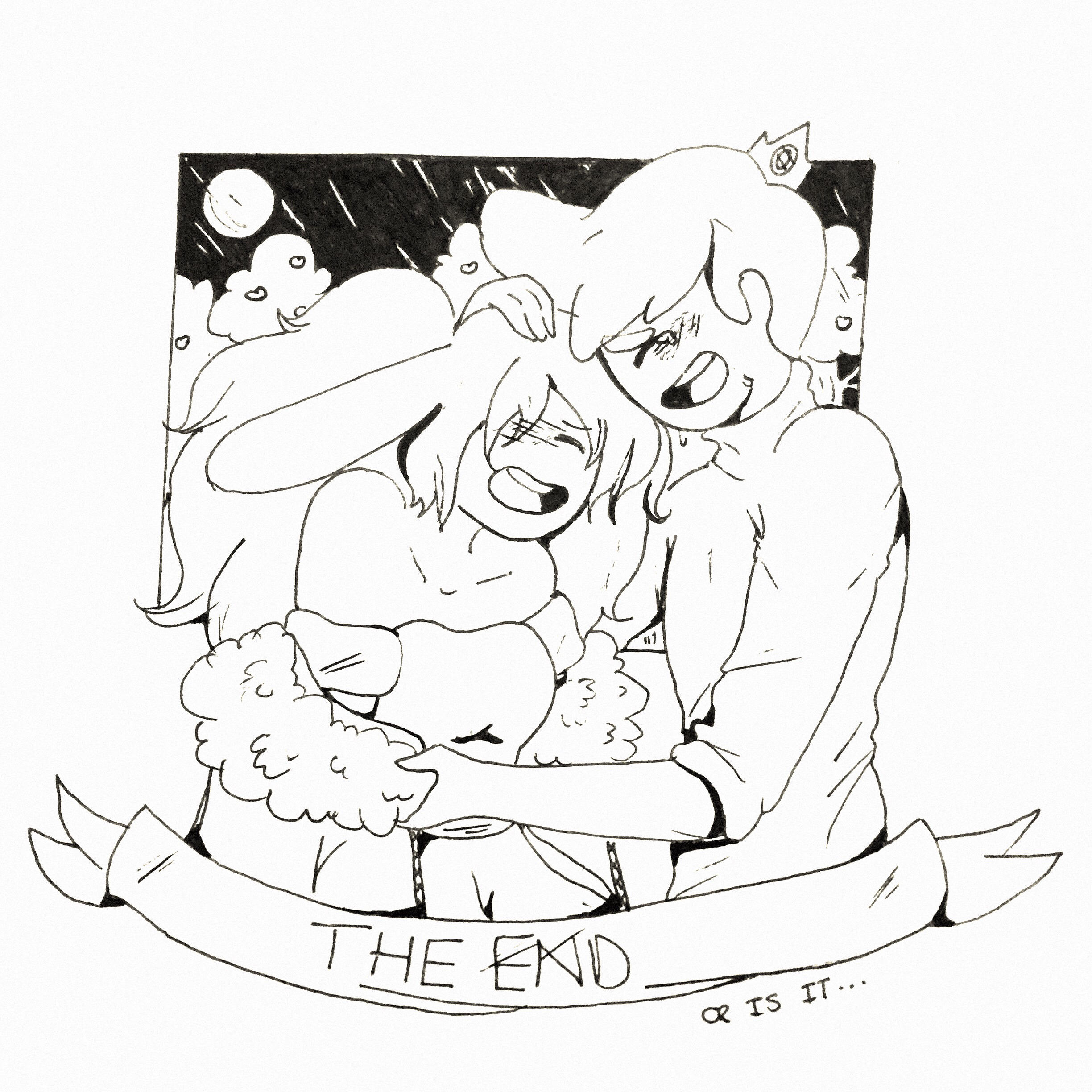 The End Inktober By Geeky Bunny On Deviantart