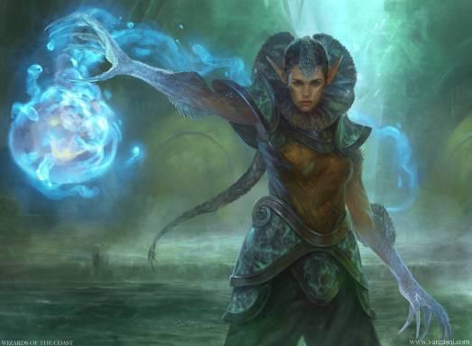 Image result for frilled mystic art mtg