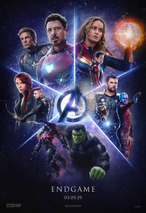 Hasil gambar untuk AVENGERS: ENDGAME 2019 poster