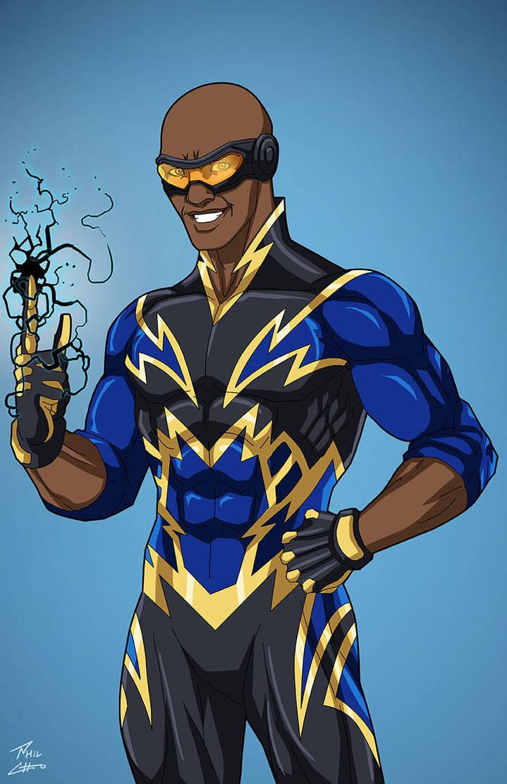American Superhero Concept Art