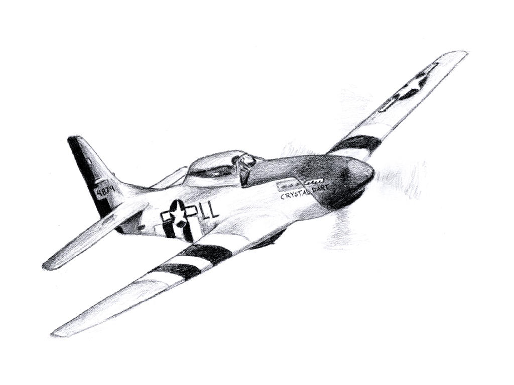 P 51 Mustang By Flashelectron On Deviantart