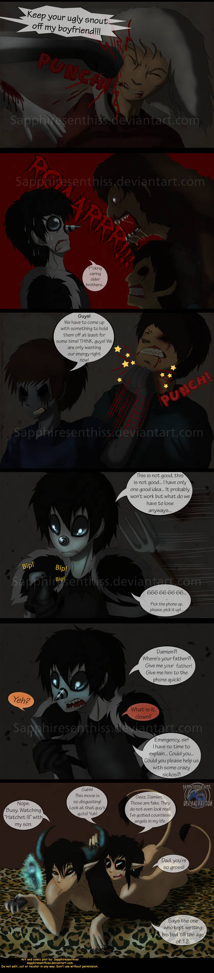 Adventures With Jeff The Killer - PAGE 150 by ...