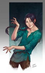 Iszak personaje de La visita del selkie
