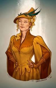 Beatrix personaje de La visita del selkie