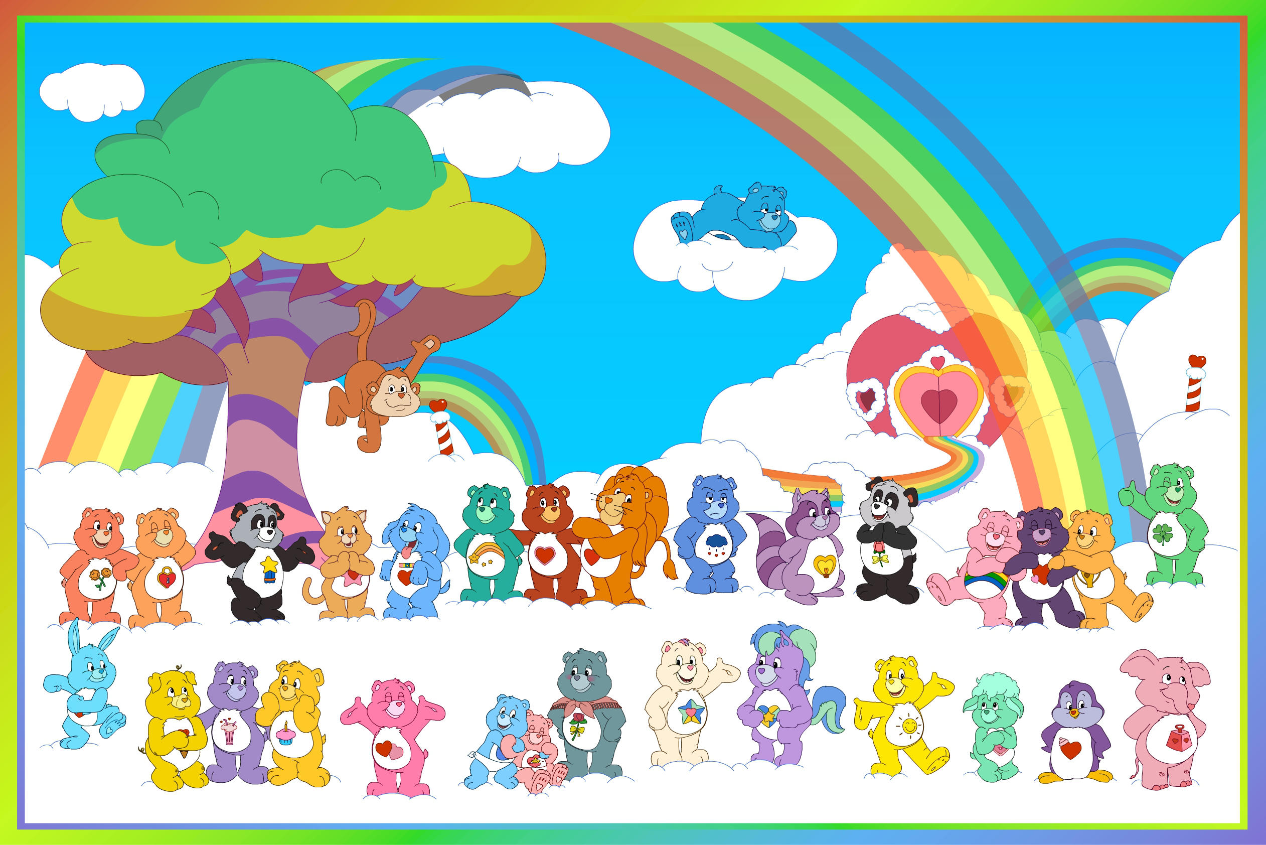 In That Care Bear Family By Theoctagon0 On Deviantart