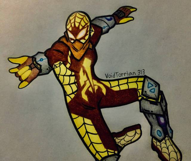 Spidersona Spider Man Dune By Voidtorrian