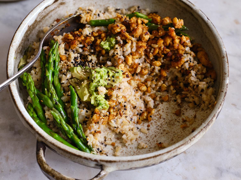 Spicy Sesame Coconut Rice