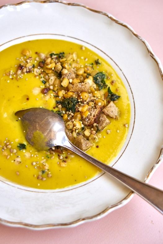 The Creamiest Vegan Soup Recipe