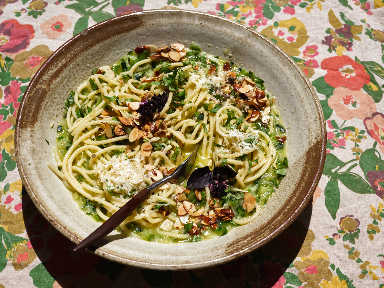 Pasta with Smashed Zucchini Cream | 101 Cookbooks