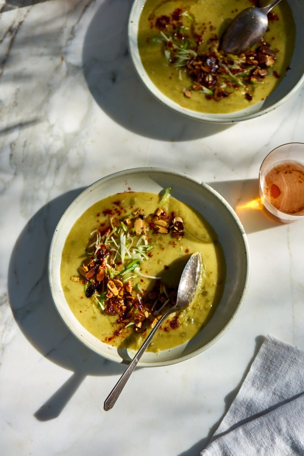 A Really Great Vegetarian Split Pea Soup