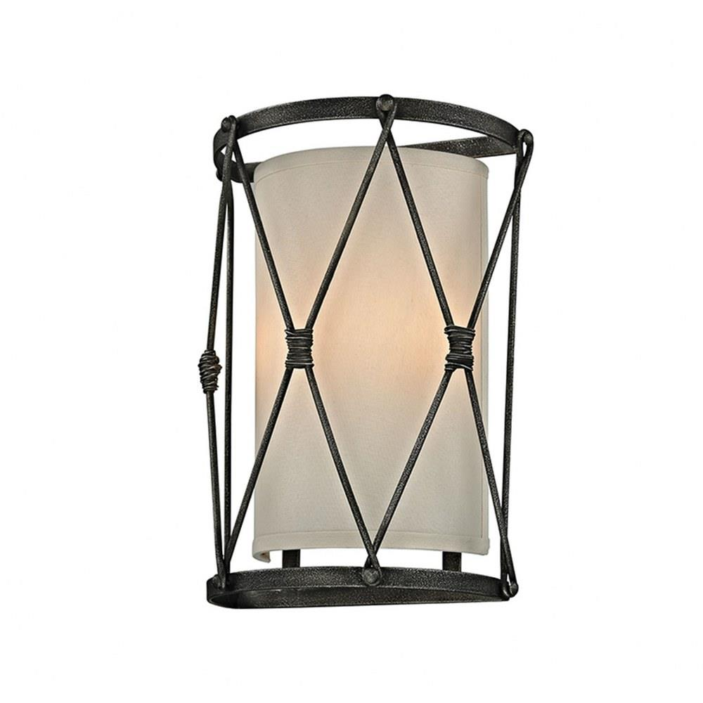 palisade two light wall sconce
