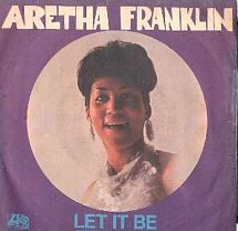 45cat - Aretha Franklin - Let It Be / Sit Down and Cry - Atlantic - Italy -  ATL-NP 03159