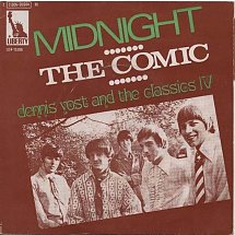 Image result for midnight dennis yost and  the classic iv single images