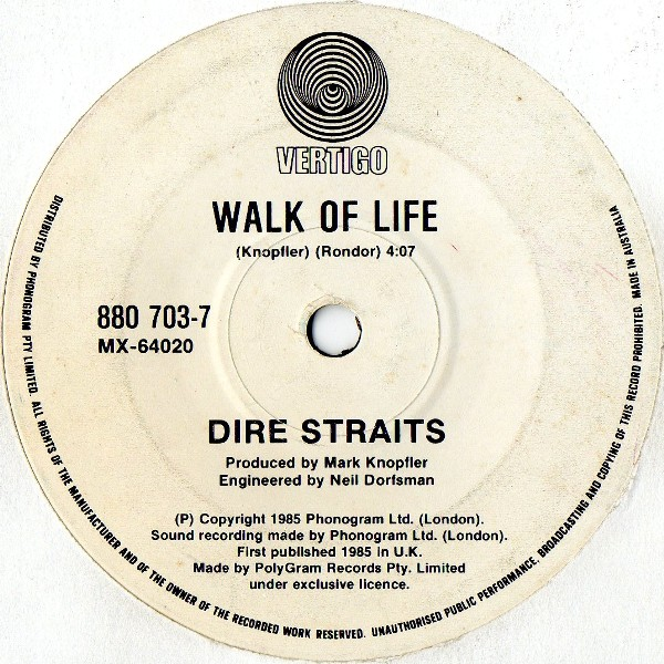 Image result for walk of life dire straits