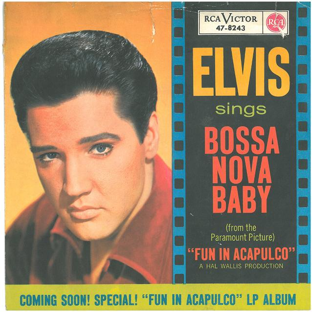 Image result for elvis Bossa Nova Baby/Witchcraft
