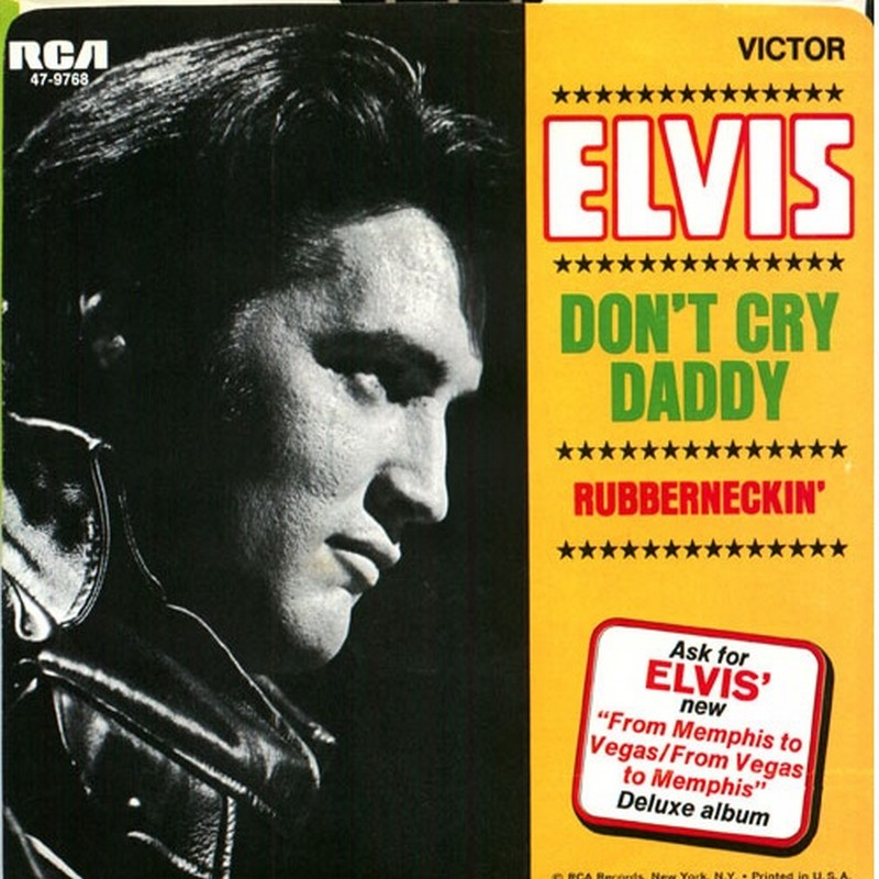 Image result for elvis don't cry daddy