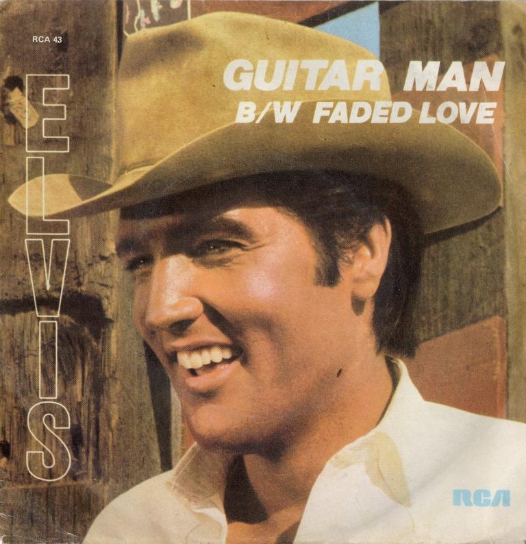 """Image result for Elvis Presley's """"Guitar Man 1981"""