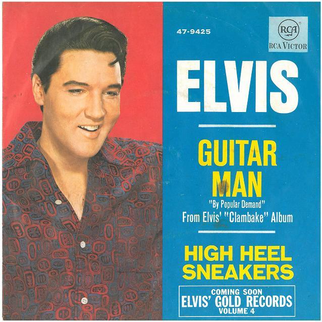 """Image result for Elvis Presley's """"Guitar Man"""