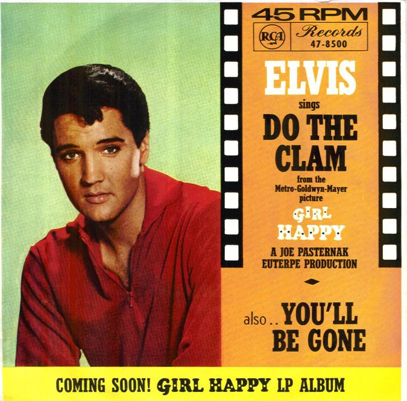 Image result for elvis do the clam