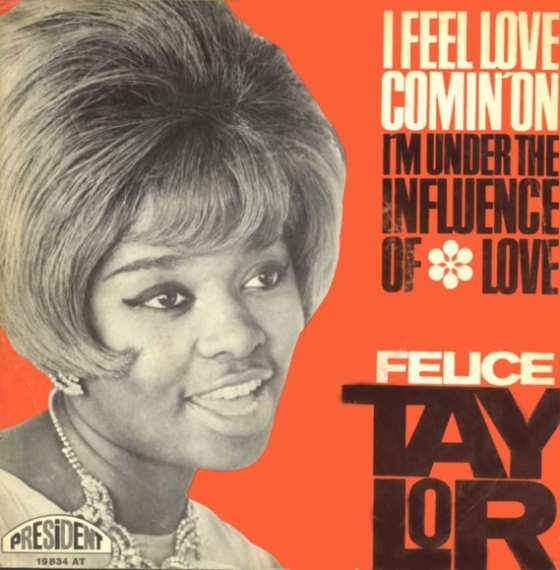 Image result for felice taylor i feel love comin on
