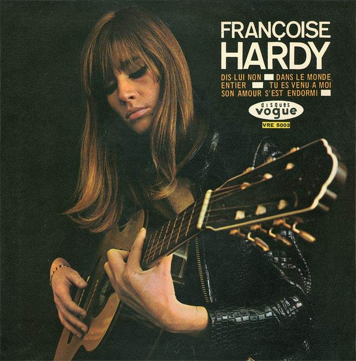 Resultado de imagen de françoise hardy: the vogue years cd
