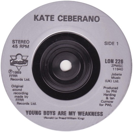 45cat - Kate Ceberano - Young Boys Are My Weakness ...