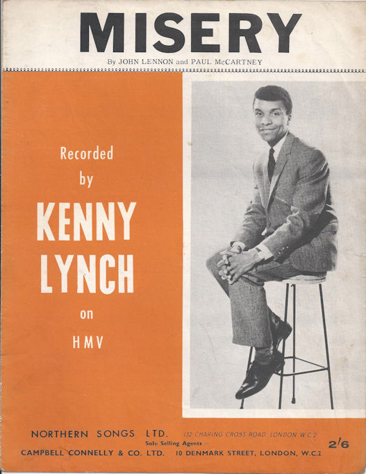 Image result for misery kenny lynch single images