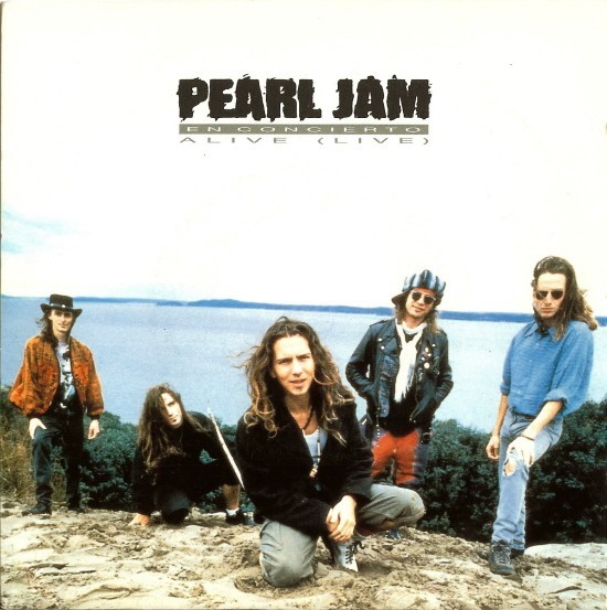 45cat - Pearl Jam - Alive (Live) - Epic - Spain - ARIE 3138