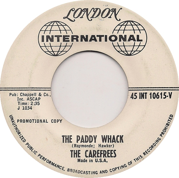 The Carefrees The Paddy Whack